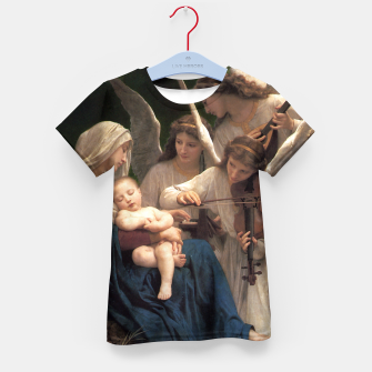 Thumbnail image of The Angels by William Adolphe Bouguereau Kid's t-shirt, Live Heroes