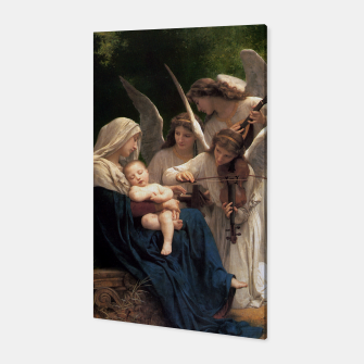 Thumbnail image of The Angels by William Adolphe Bouguereau Canvas, Live Heroes