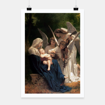 Thumbnail image of The Angels by William Adolphe Bouguereau Poster, Live Heroes