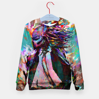 Thumbnail image of predator Kid's sweater, Live Heroes