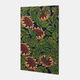 Thumbnail image of Vintage Sunflowers Canvas, Live Heroes