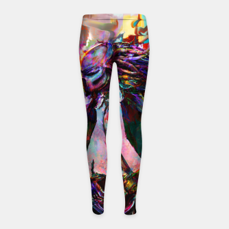 Thumbnail image of predator Girl's leggings, Live Heroes
