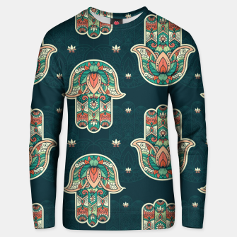 Thumbnail image of Abstract Flowerss Unisex sweater, Live Heroes