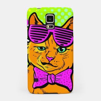 Thumbnail image of Smile Cat Pop Art Samsung Case, Live Heroes