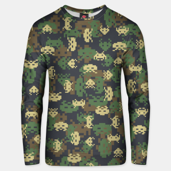 Invaded Camo WOODLAND Gamer Unisex sweater thumbnail image