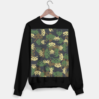 Invaded Camo WOODLAND Gamer Sweater regular thumbnail image