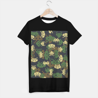 Invaded Camo WOODLAND Gamer T-shirt regular thumbnail image
