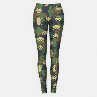 Invaded Camo WOODLAND Gamer Leggings thumbnail image