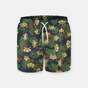 Invaded Camo WOODLAND Gamer Swim Shorts thumbnail image