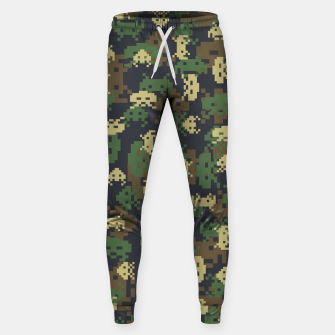 Thumbnail image of Invaded Camo WOODLAND Gamer Sweatpants, Live Heroes