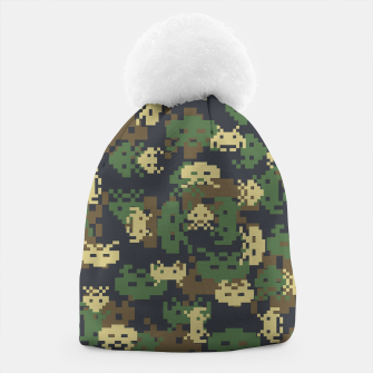 Invaded Camo WOODLAND Gamer Beanie thumbnail image