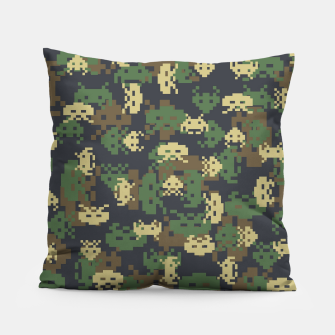 Invaded Camo WOODLAND Gamer Pillow thumbnail image