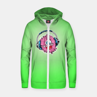 Thumbnail image of Cyclops DJ Zip up hoodie, Live Heroes