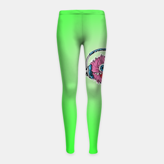 Thumbnail image of Cyclops DJ Girl's leggings, Live Heroes