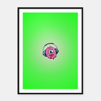 Thumbnail image of Cyclops DJ Framed poster, Live Heroes