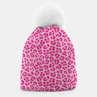 Leopard Lilac and Pink Gorro thumbnail image