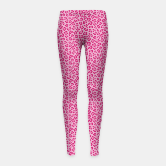 Thumbnail image of Leopard Lilac and Pink Leggings para niña, Live Heroes