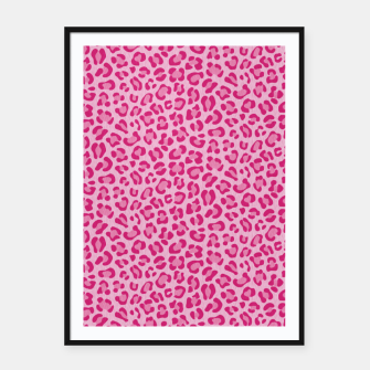 Leopard Lilac and Pink Cartel con marco thumbnail image