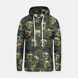 Thumbnail image of Skull Camo WOODLAND Hoodie, Live Heroes