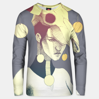Woman & Skull Unisex sweater miniature