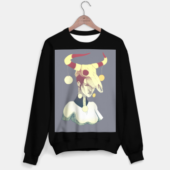 Miniatur Woman & Skull Sweater regular, Live Heroes