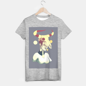 Woman & Skull T-shirt regular thumbnail image