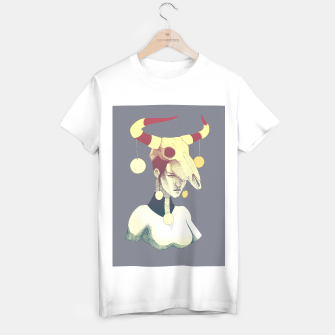 Miniatur Woman & Skull T-shirt regular, Live Heroes