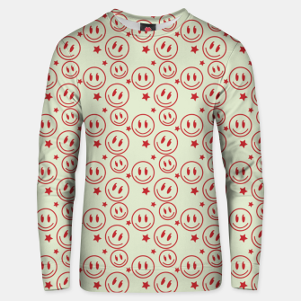 Miniaturka Smiley Stars pattern Unisex sweater, Live Heroes