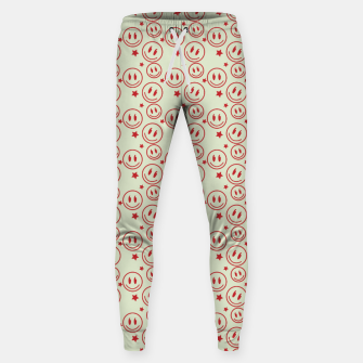 Miniaturka Smiley Stars pattern Sweatpants, Live Heroes