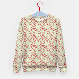 Miniaturka Smiley Stars pattern Kid's sweater, Live Heroes