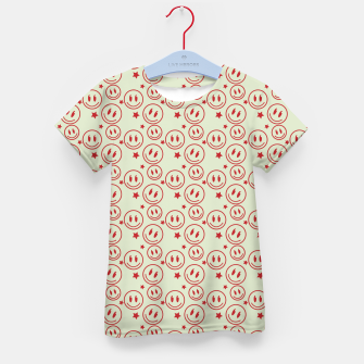 Miniaturka Smiley Stars pattern Kid's t-shirt, Live Heroes