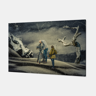 Thumbnail image of Death Research - Contemporary Art Collage Canvas, Live Heroes