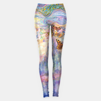 Thumbnail image of Let Your Imagination Fly Leggings, Live Heroes