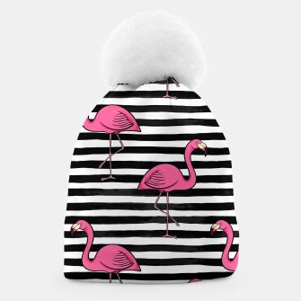 Thumbnail image of Flamingos Silhouette Beanie, Live Heroes