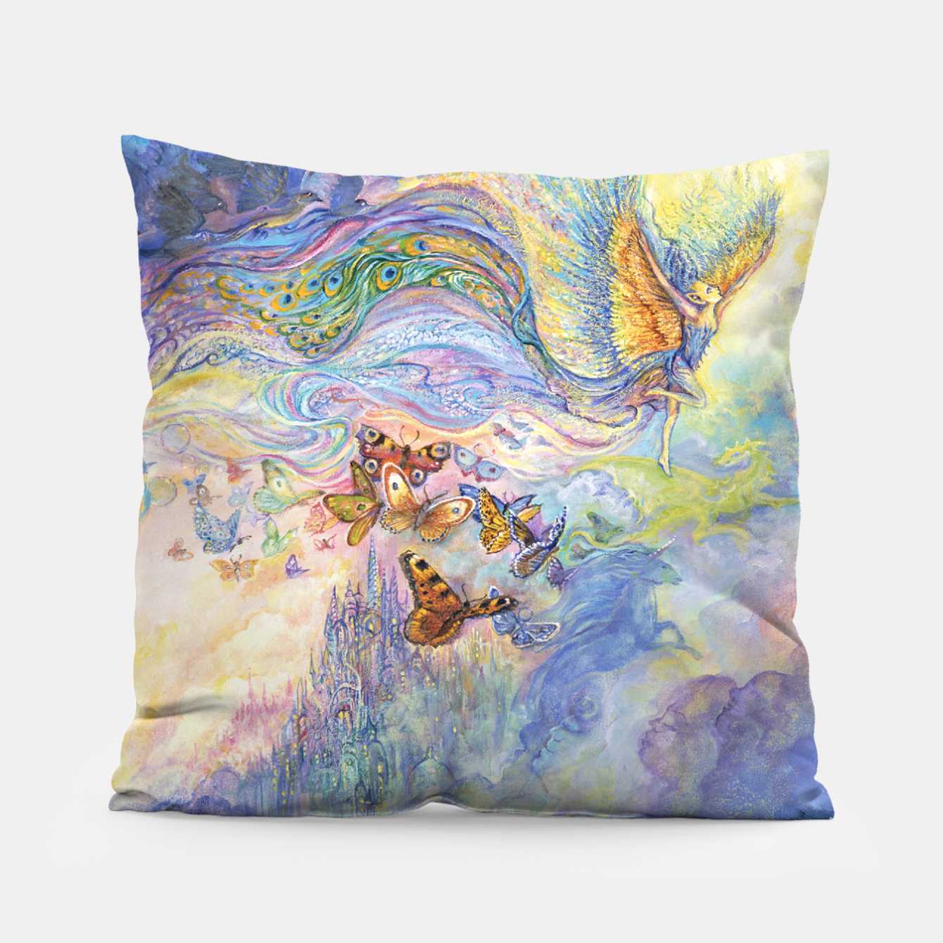 Image of Let Your Imagination Fly Pillow - Live Heroes