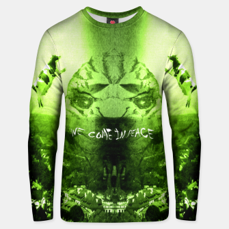 Thumbnail image of We Come In Peace Bluza unisex, Live Heroes