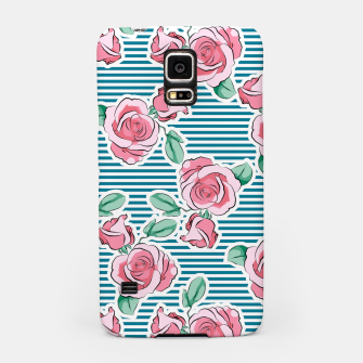Thumbnail image of Pink Roses Strips Samsung Case, Live Heroes