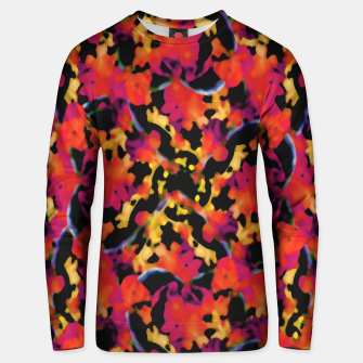 Thumbnail image of Red Floral Collage Print Design Unisex sweater, Live Heroes