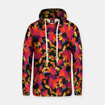 Thumbnail image of Red Floral Collage Print Design Hoodie, Live Heroes