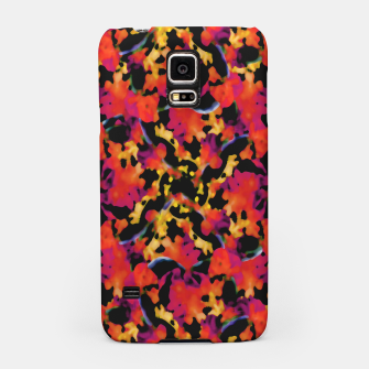 Thumbnail image of Red Floral Collage Print Design Samsung Case, Live Heroes