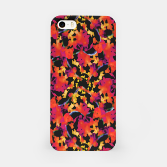 Thumbnail image of Red Floral Collage Print Design iPhone Case, Live Heroes
