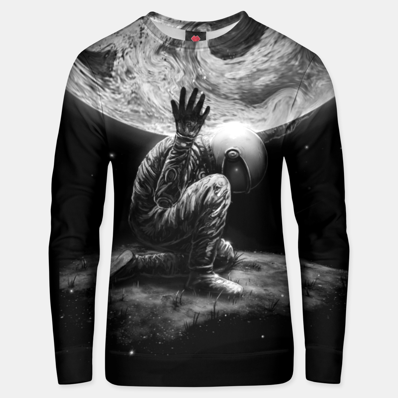 Image of Atlas Unisex sweater - Live Heroes