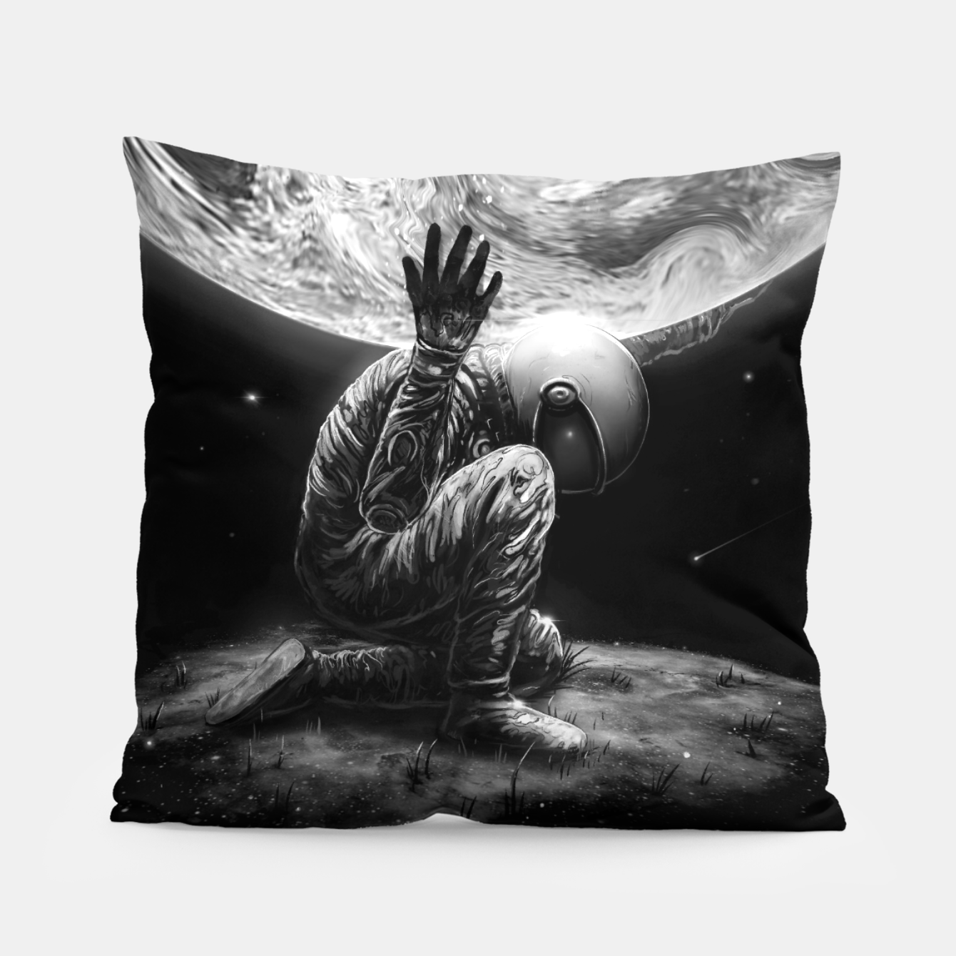 Image of Atlas Pillow - Live Heroes