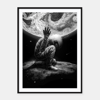 Thumbnail image of Atlas Framed poster, Live Heroes