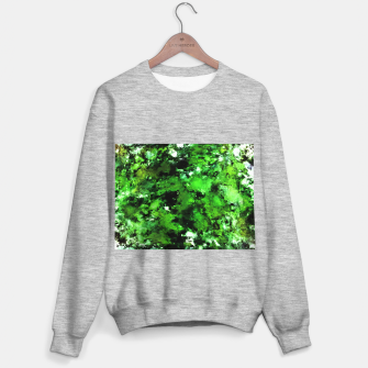 Thumbnail image of Green deflected Sweater regular, Live Heroes