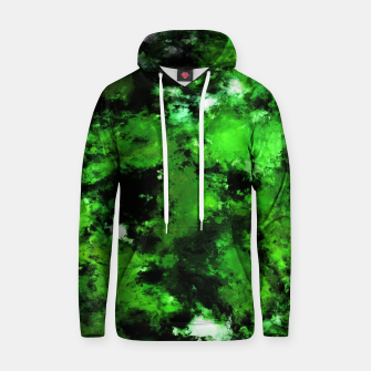 Thumbnail image of Green deflected Hoodie, Live Heroes