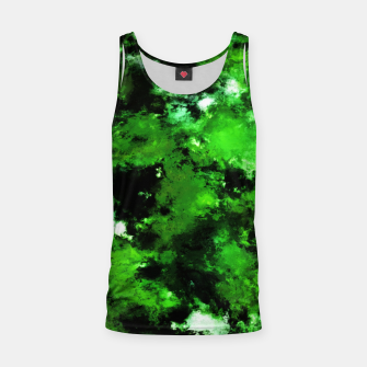 Thumbnail image of Green deflected Tank Top, Live Heroes