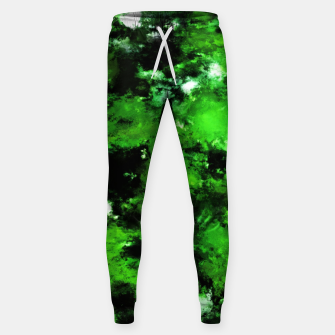 Thumbnail image of Green deflected Sweatpants, Live Heroes