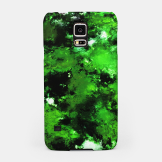 Thumbnail image of Green deflected Samsung Case, Live Heroes