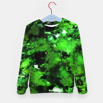 Thumbnail image of Green deflected Kid's sweater, Live Heroes